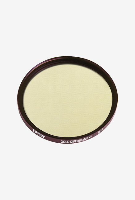 Tiffen 49GDFX1 49mm Gold Diffusion 1 Filter (Black)