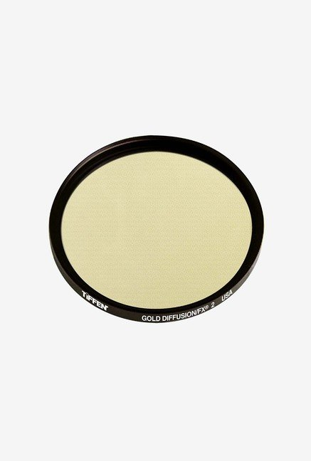Tiffen 49GDFX2 49mm Gold Diffusion 2 Filter (Black)