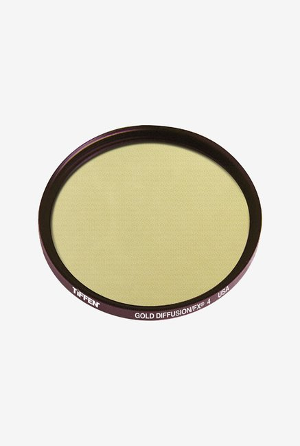Tiffen 49GDFX4 49mm Gold Diffusion 4 Filter (Black)