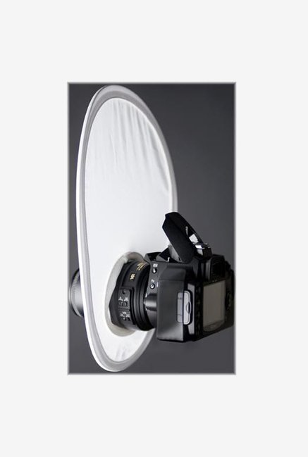 Interfit Photographic Strobies on Camera Diffuser (White)