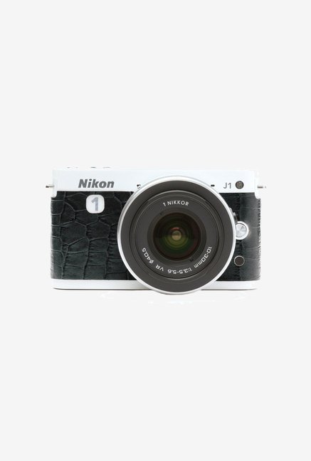 Japan hobby tool Nikon Camera Leather Sticker (Black)