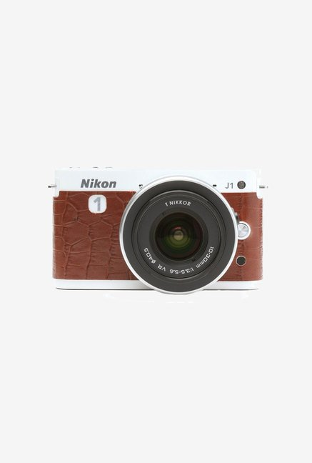 Japan hobby tool Nikon Camera Leather Sticker (Brown)