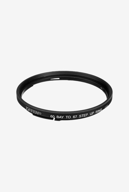 Tiffen 60B67SUR Bay 60-67mm Step-Up Filter Ring (Black)