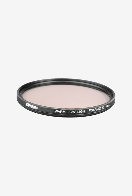 Tiffen 62mm Warm Low Light Linear Polarizer Filter (Black)
