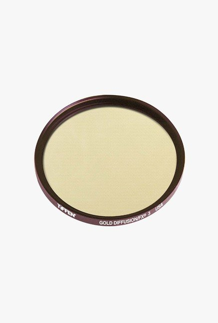 Tiffen 55GDFX3 55mm Gold Diffusion 3 Filter (Black)