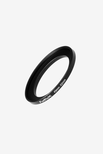 Fotodiox 04SR4352 43-52mm Metal Step-Up Ring (Black)