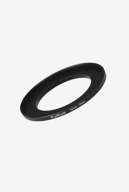 Fotodiox 04SR5272 52-72mm Metal Step-Up Ring (Black)