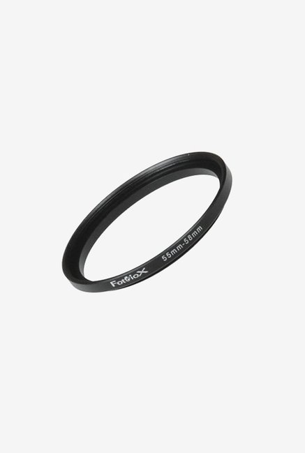 Fotodiox 04SR5558 55-58mm Metal Step-Up Ring (Black)