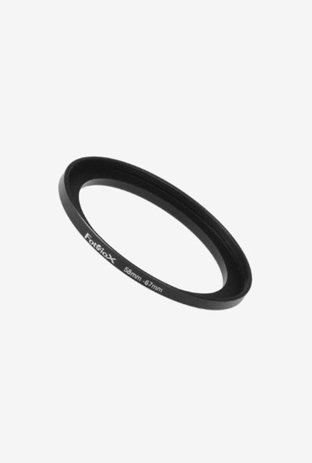 Fotodiox 04SR5867 58-67mm Metal Step-Up Ring (Black)