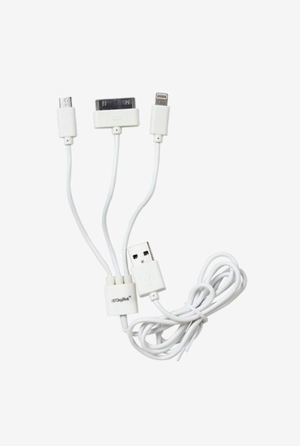 Digitek DC1M 3-1 3 in 1 Cable (White)