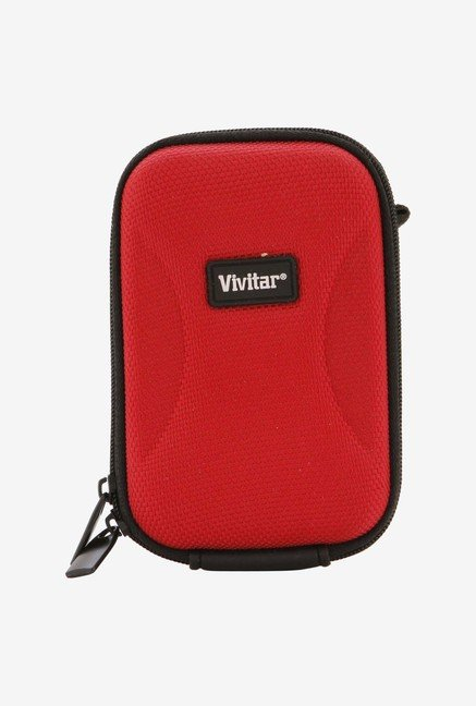 Vivitar HSC-4RD Medium Camera Case (Red)