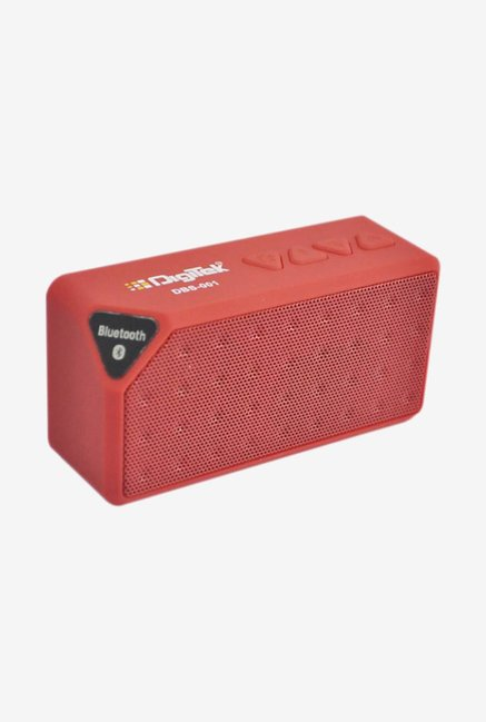 Digitek DBS 001 Bluetooth Speaker (Red)