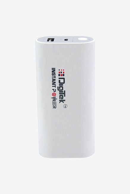 Digitek DIP 5200B 5200 mAh Power Bank (White)