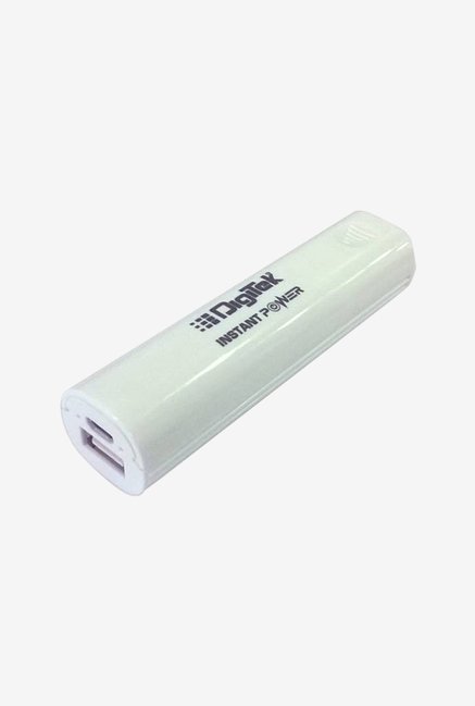 Digitek DIP 002 2600 mAh Power Bank (White)