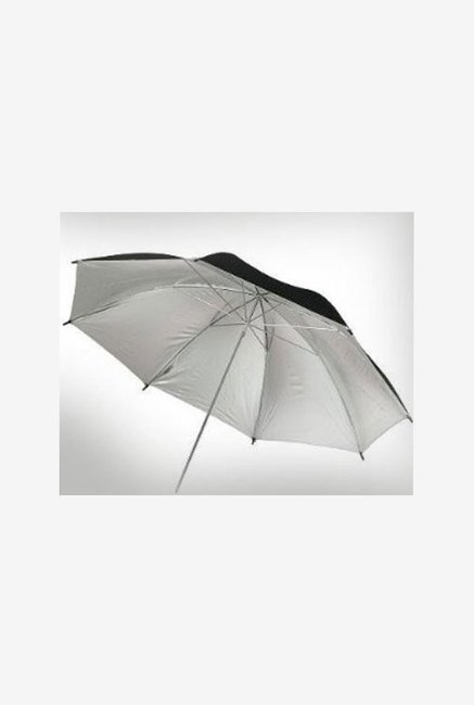Ephoto U33Sv 33-Inch Silver Reflector Umbrella (Black)