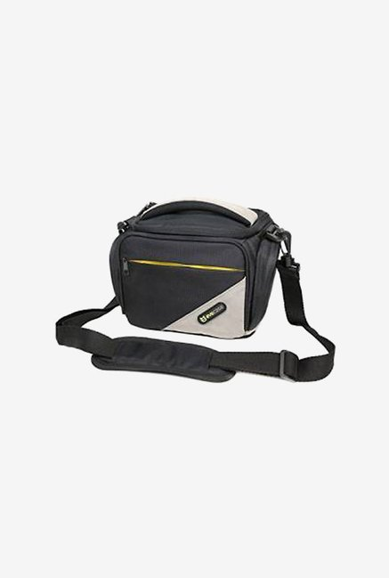 Evecase Medium Camera Pouch Case With Shoulder Strap (Black)