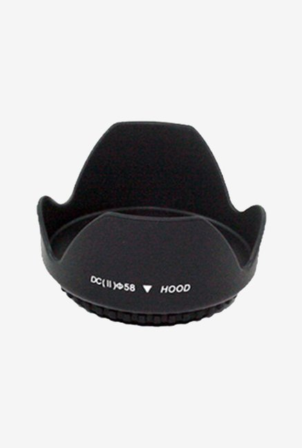 Dopo 58 mm Digital Camera Lens Hood (Black)