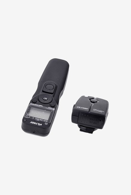 Eggsnow Wireless Timer Control Shutter Release Remote(Black)