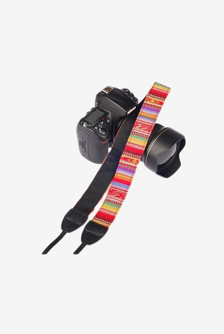 Eggsnow Camera Shoulder Neck Strap (Red/Yellow)