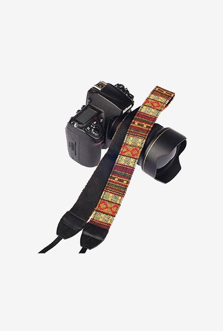 Eggsnow Camera Shoulder Neck Strap Belt (Multi Yellow)