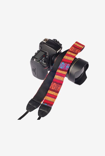 Eggsnow Camera Shoulder Neck Strap Vintage Belt (Red)