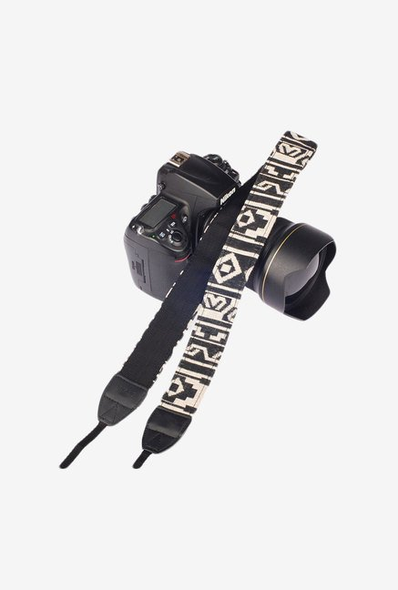 Eggsnow Camera Shoulder Neck Strap (Black/White)