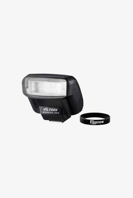 Eggsnow Universal Hot Shoe Speedlite On-Camera Flash (Black)