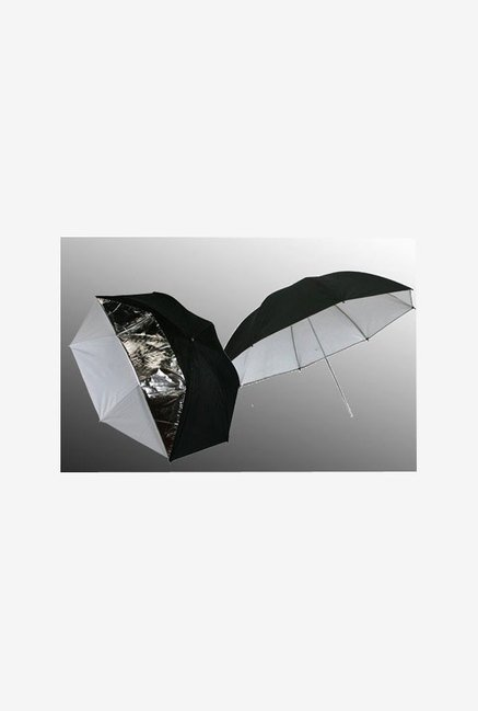"Ephoto 43"" Translucent Ur05 43"" Umbrella (Black)"