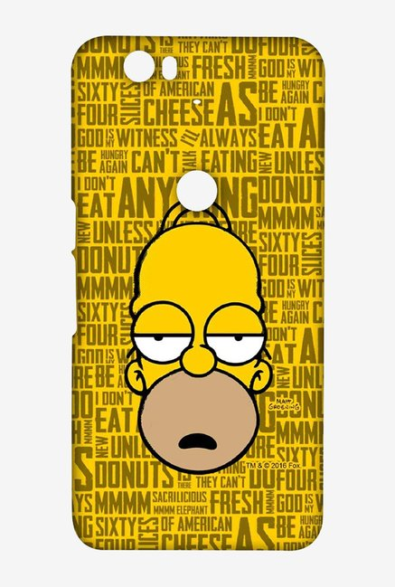 Simpsons Homer Says Case for Huawei Nexus 6P