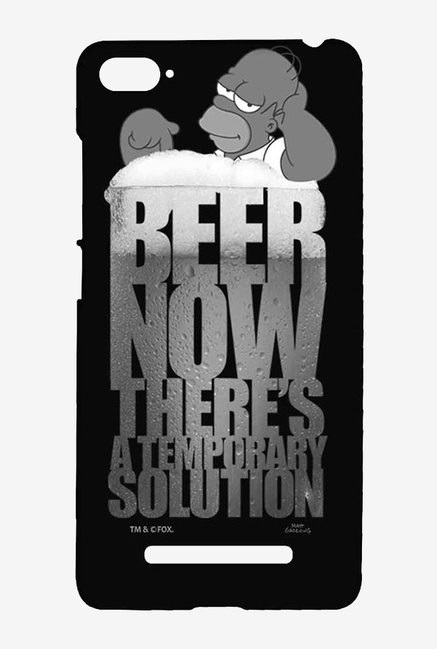 Simpsons The Beer Solution Black Case for Xiaomi Mi4i