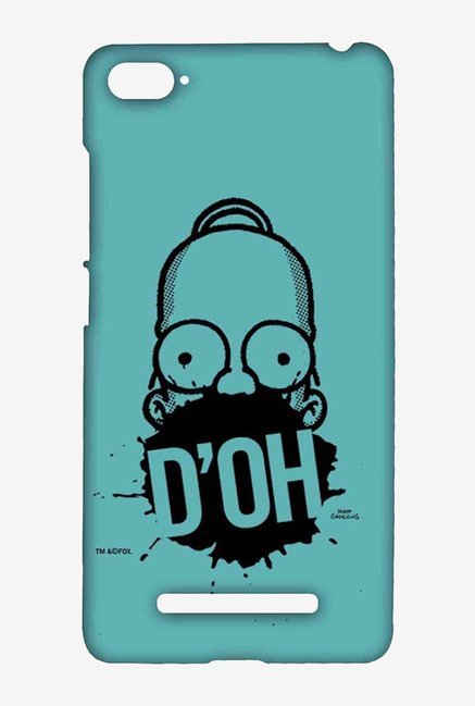 Simpsons D'OH Teal Case for Xiaomi Mi4i