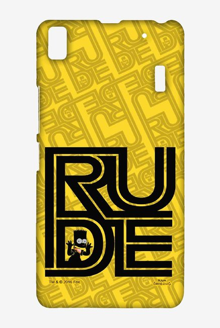 Simpsons Rude Case for Lenovo K3 Note