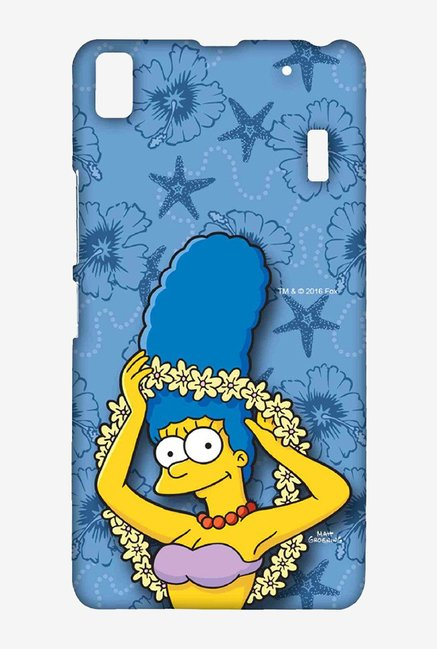 Simpsons Marge Hawaii Case for Lenovo K3 Note