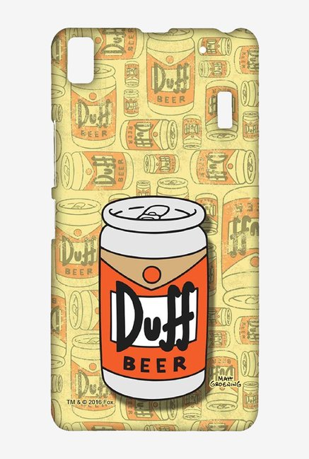 Simpsons Duff Beer Case for Lenovo K3 Note