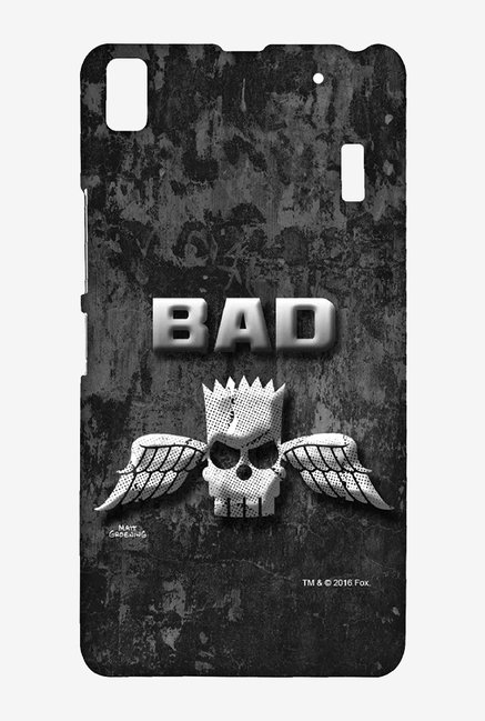 Simpsons Cracked Wall Bart Case for Lenovo K3 Note