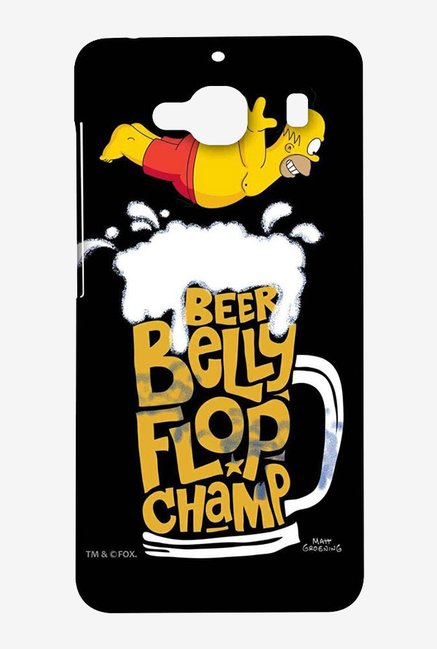 Simpsons Beer Belly Flop Champ Black Case for Xiaomi Redmi 2