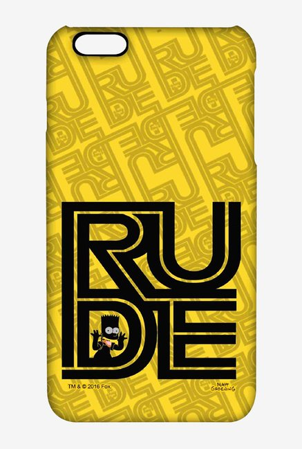 Simpsons Rude Case for iPhone 6 Plus