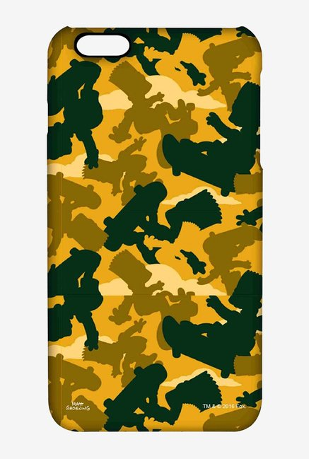 Simpsons Camo Bart Case for iPhone 6 Plus