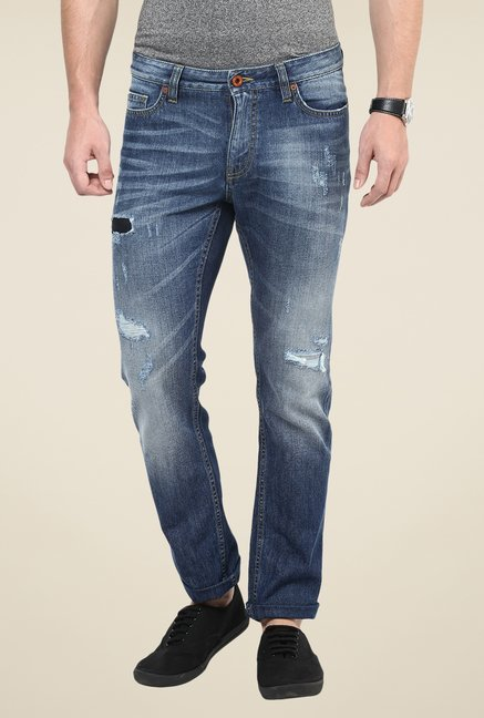 celio* Light Blue Ripped Jeans