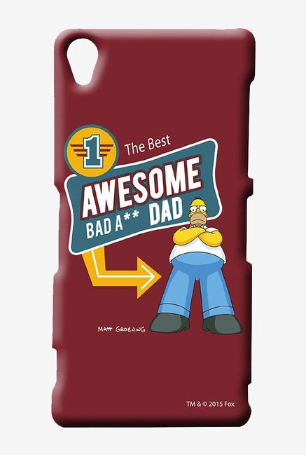 Simpsons Awesome Dad Case for Sony Xperia Z3