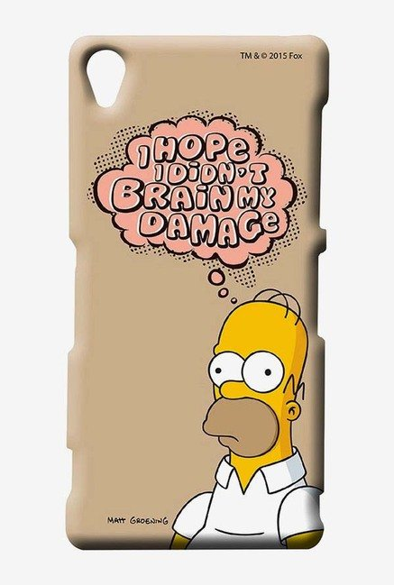 Simpsons Brain Humour Case for Sony Xperia Z3