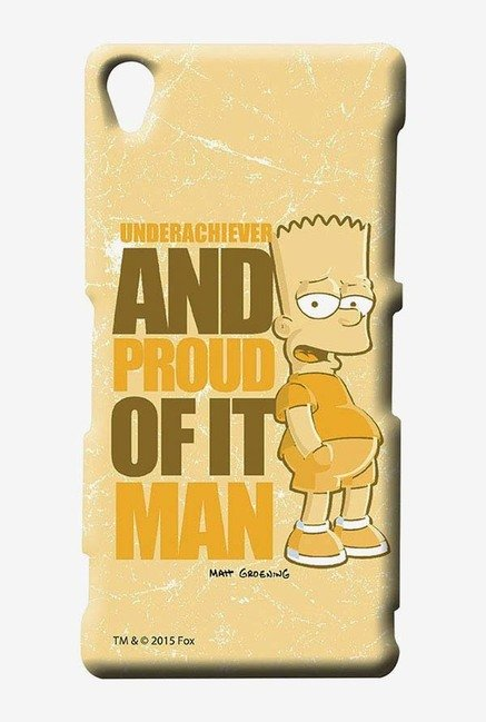 Simpsons Proud Underachiever Case for Sony Xperia Z3