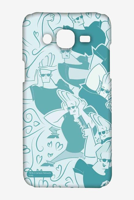 Artistic Johnny Bravo Case for Samsung On7