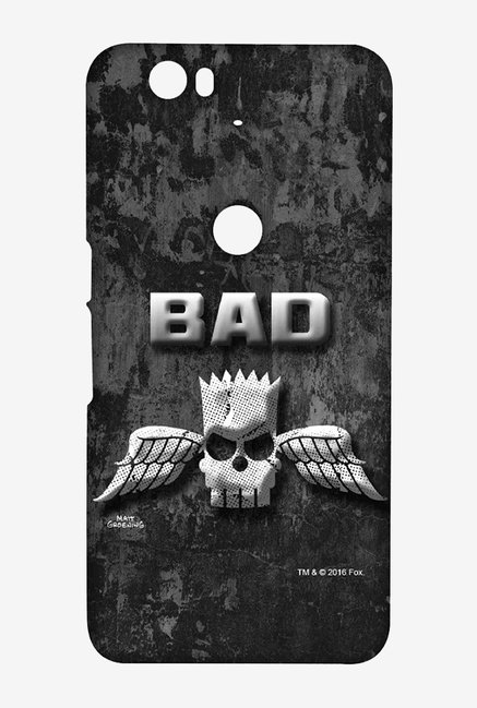 Simpsons Cracked Wall Bart Case for Huawei Nexus 6P