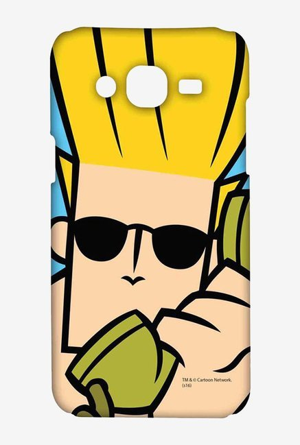 Johnny Bravo On The Phone Case for Samsung On7