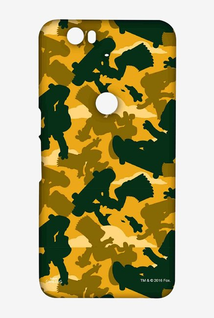 Simpsons Camo Bart Case for Huawei Nexus 6P