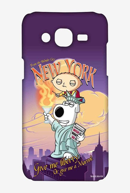 Family Guy Brian Liberty New York Case for Samsung On7