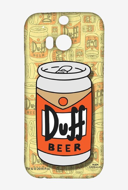 Simpsons Duff Beer Case for HTC One M8