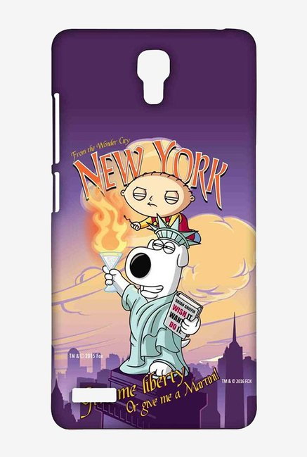 Family Guy Brian Liberty New York Case for Redmi Note 4G
