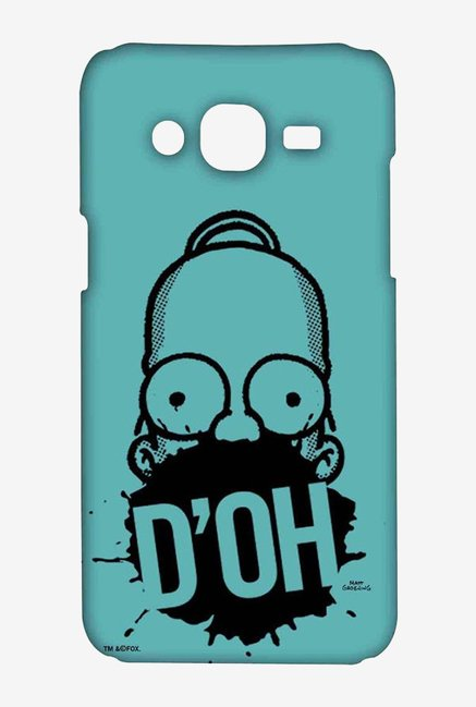 Simpsons D'OH Teal Case for Samsung On7